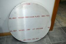 12 X 20 18 Circle Aluminum 6061 Round Solid Plate Mill Stock 50 Thick