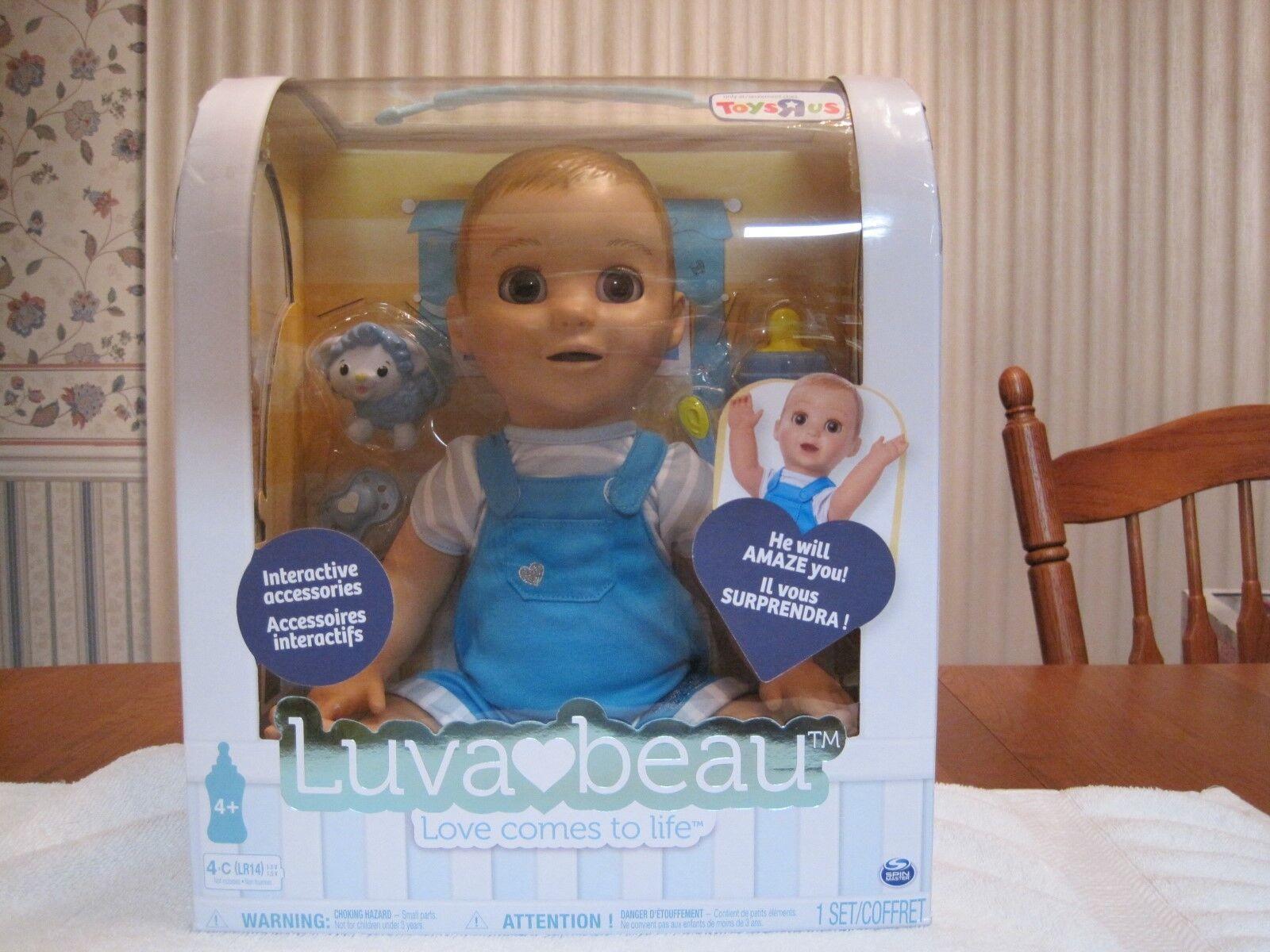 Luvabella Luva Beau interactivos sensible Muñeca Bebé Niño -- Nuevo Sellado De Fábrica