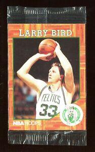 Larry Bird 1991 NBA Hoops Legend Promo Video Card Boston Celtics Sealed Rare *1