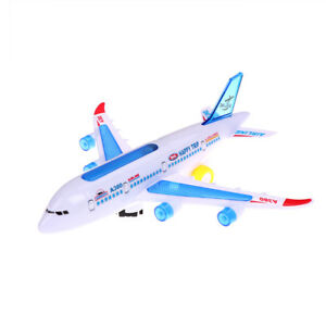 Plastic-airbus-A380-model-airplane-electric-flash-light-sound-kids-toEE