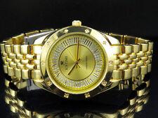 Ladies Genuine Diamond Icetime Princess Watch PR-02 Yellow Gold Finish .10ct