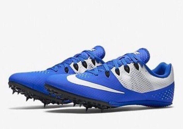 Nike Zoom rival s 8 hombres pista spikes 806554 400 último azul blanco cómodo el último 400 descuento zapatos para hombres y mujeres 200c04