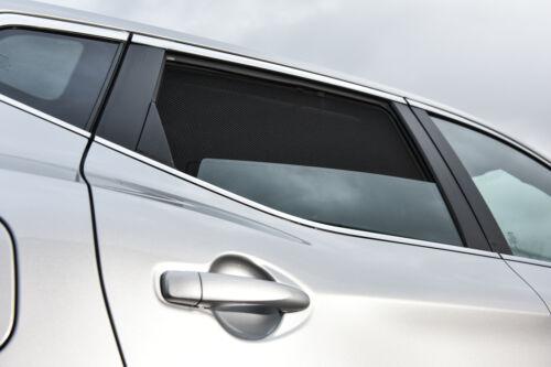 4-teilig Sonnenschutz Mitsubishi Colt 5-Türer BJ 2005-2012 hinten+Heckscheib