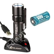 NEW Olight S10R USB rechargeable 400 lumen Cree LED Flashlight Li-ion battery