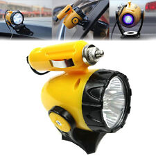 Car 12V 5LED Cigarette Lighter Magnetic Emergency Work Light Car Torch Lamp