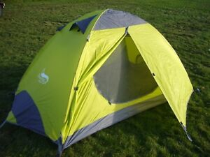 Image is loading Lightweight-2-Man-Tent-Backpacking-Tent-C&ing-3- & Lightweight 2 Man Tent - Backpacking Tent - Camping - 3 Season ...