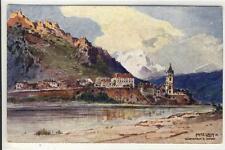 AK Dürnstein, Künstler: F. Lach, 1920