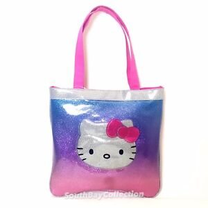 Image Is Loading Sanrio Hello Kitty Face S Tote Bag Purse