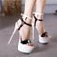 Fashion-Ladies-High-Heel-Sandals-Womens-Peep-Toe-Platform-Shoes-Pumps-Plus-Size thumbnail 5