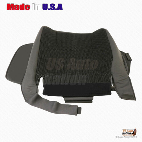2003-2005 Dodge Ram 1500 2500 3500 SLT Driver Side Bottom Cloth Seat Cover Gray