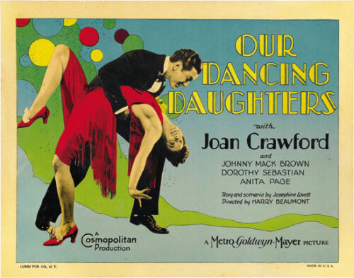 Our dancing daughters Joan Crawford movie poster #3