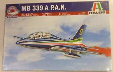 Italeri 1/72 MB 339 A P.A N. Frecce Jet Trainer Model Kit 1317