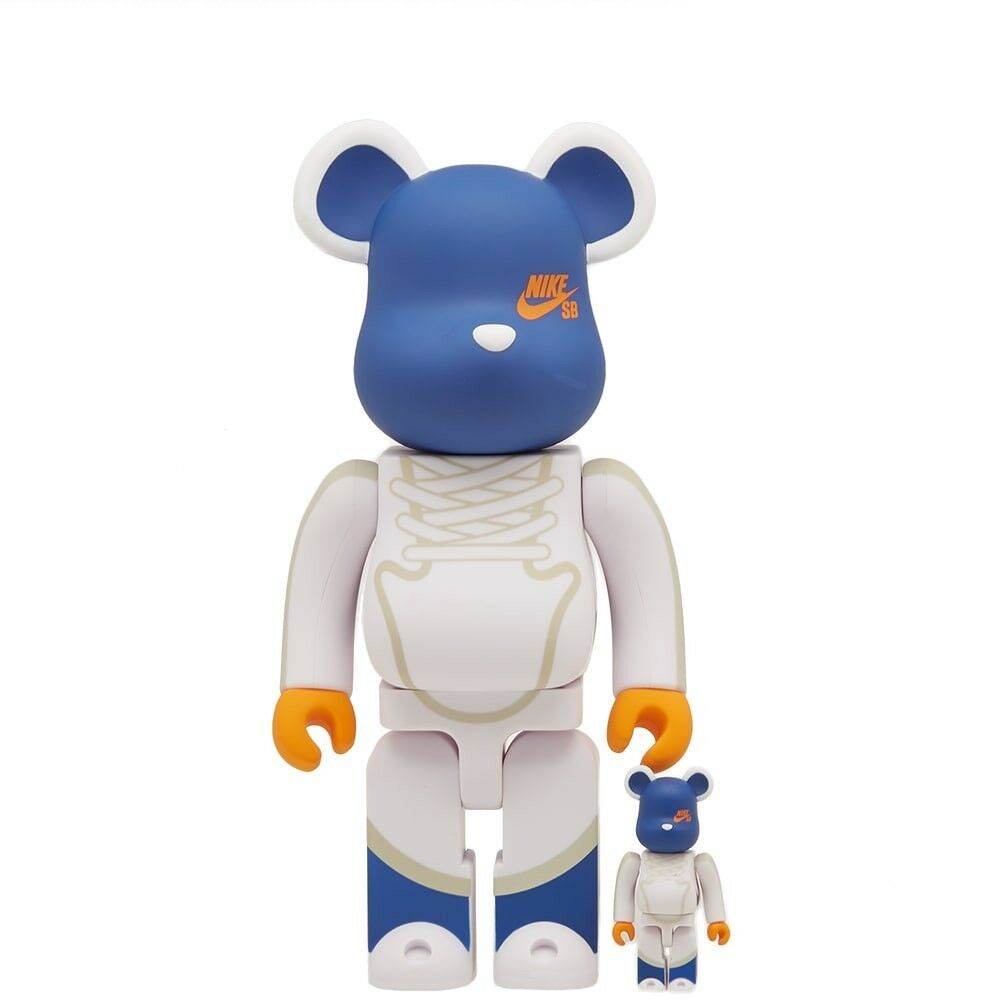 Medicom BE@RBRICK Nike SB Dunk Elite High 100% 400% Bearbrick Figure Set