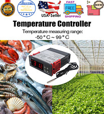 Stc 1000 Digital All Purpose Temperature Controller Ac 110v 220v 10a With Sensor A