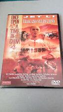 "DVD ""ERASE UNA VEZ EN CHINA"" COMO NUEVA JET LI TSUI HARK YUEN WOO PING ROSAMUND"