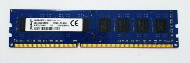 8GB DDR3 PC3-12800 DIMM Kingston ACR16D3LU1KNG//8G Equivalent Memory RAM