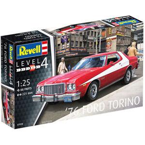 REVELL-Ford-Torino-039-76-1-25-Car-Model-Kit-07038