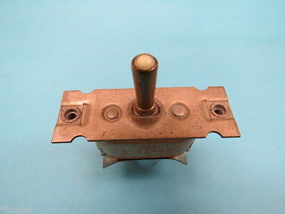 ON AN3022-6B MOM.ON -OFF- Vintage Aircraft Toggle Switch NOS Warbird