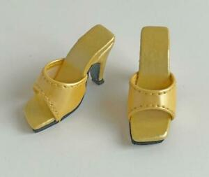 Shoes-Sandals-for-16-034-Tyler-Gene-Dolls-Slip-on-Kingstate-Mustard-Patent-Different