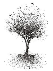 Alphabet Artistique impression artistique peinture dessin abstrait arbre design alphabet