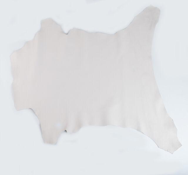 ITALIAN Lambskin Leather Hide Skin, Skins Hides Nappa LIGHT MILK