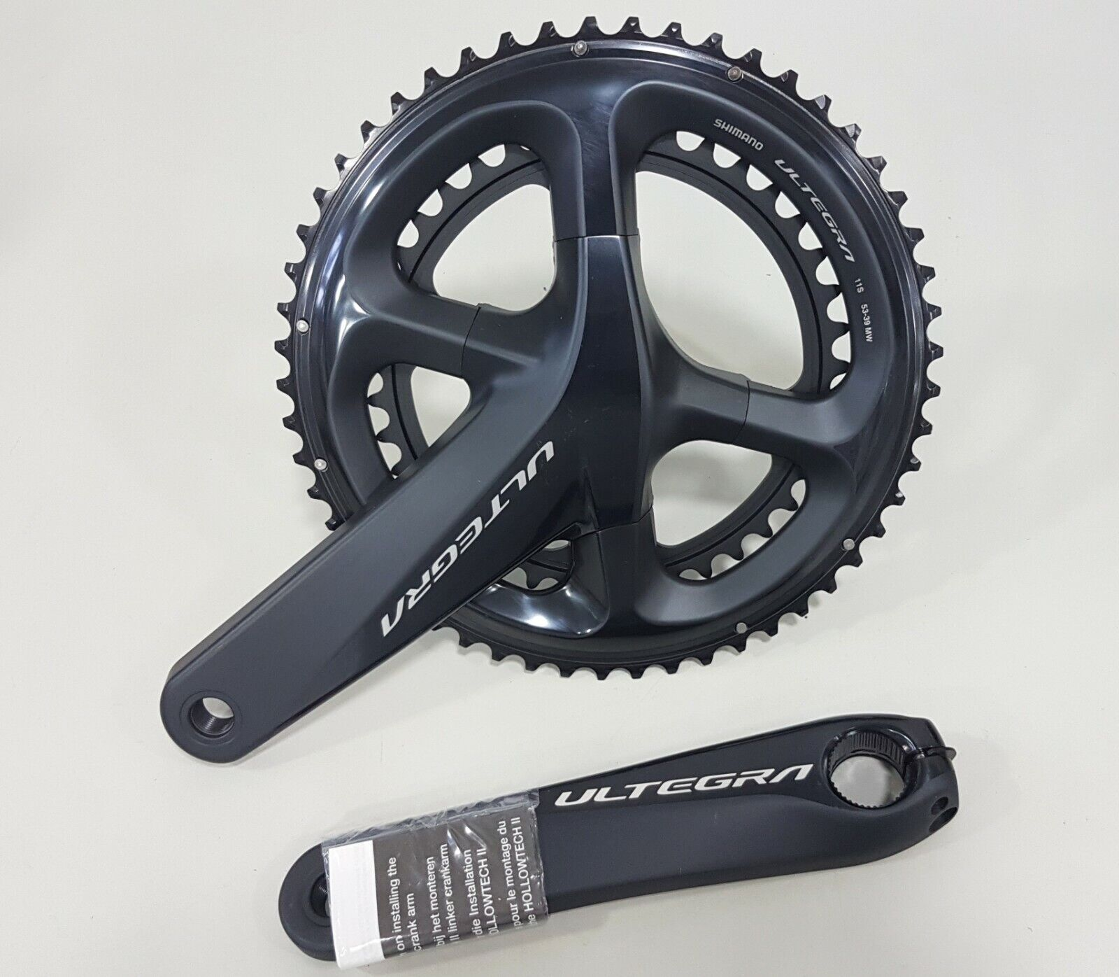 Shiuomoo Ultegra HOLLOWTECH II 2x11Speed FCR8000 R8000 Crankset 52x36T 170mm