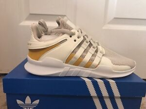 sports shoes be7d4 bcef2 Image is loading Men-Adidas-EQT-Support-ADV-Off-White-Tactile-