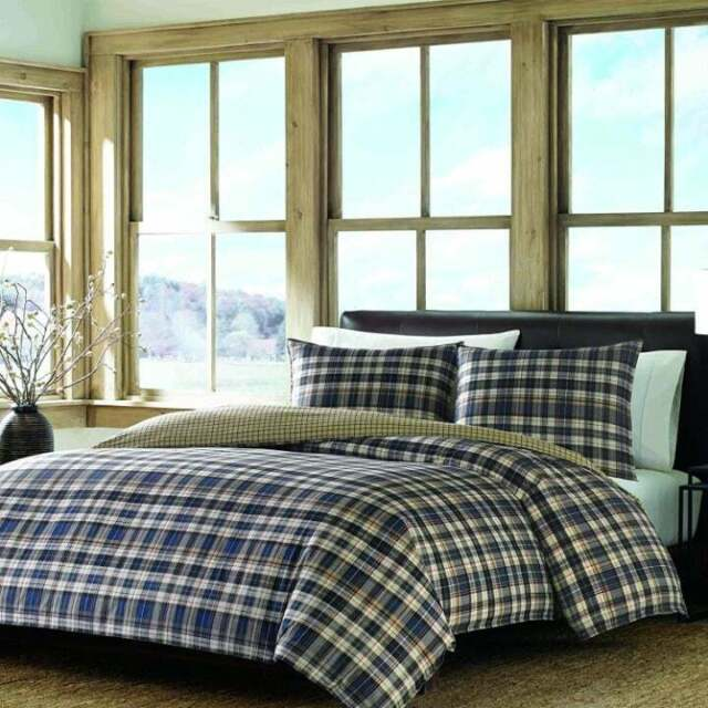 Eddie Bauer Portage Bay Reversible Queen Comforter Set For Sale Online Ebay
