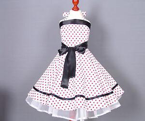 Kleid 50er madchen