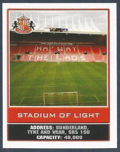 TOPPS 2010 PREMIER LEAGUE #248-SUNDERLAND-STADIUM OF LIGHT