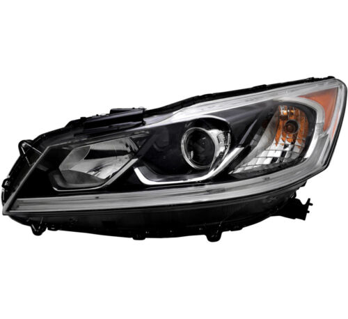 Headlight Assembly NEW Left Driver Side For 2016-2017 Honda Accord LX Sedan