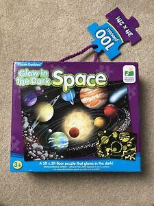 100-Piece-Lueur-dans-l-039-espace-sombre-Floor-Puzzle-3-FT-environ-0-91-m-X-2-FT-environ-0-61-m