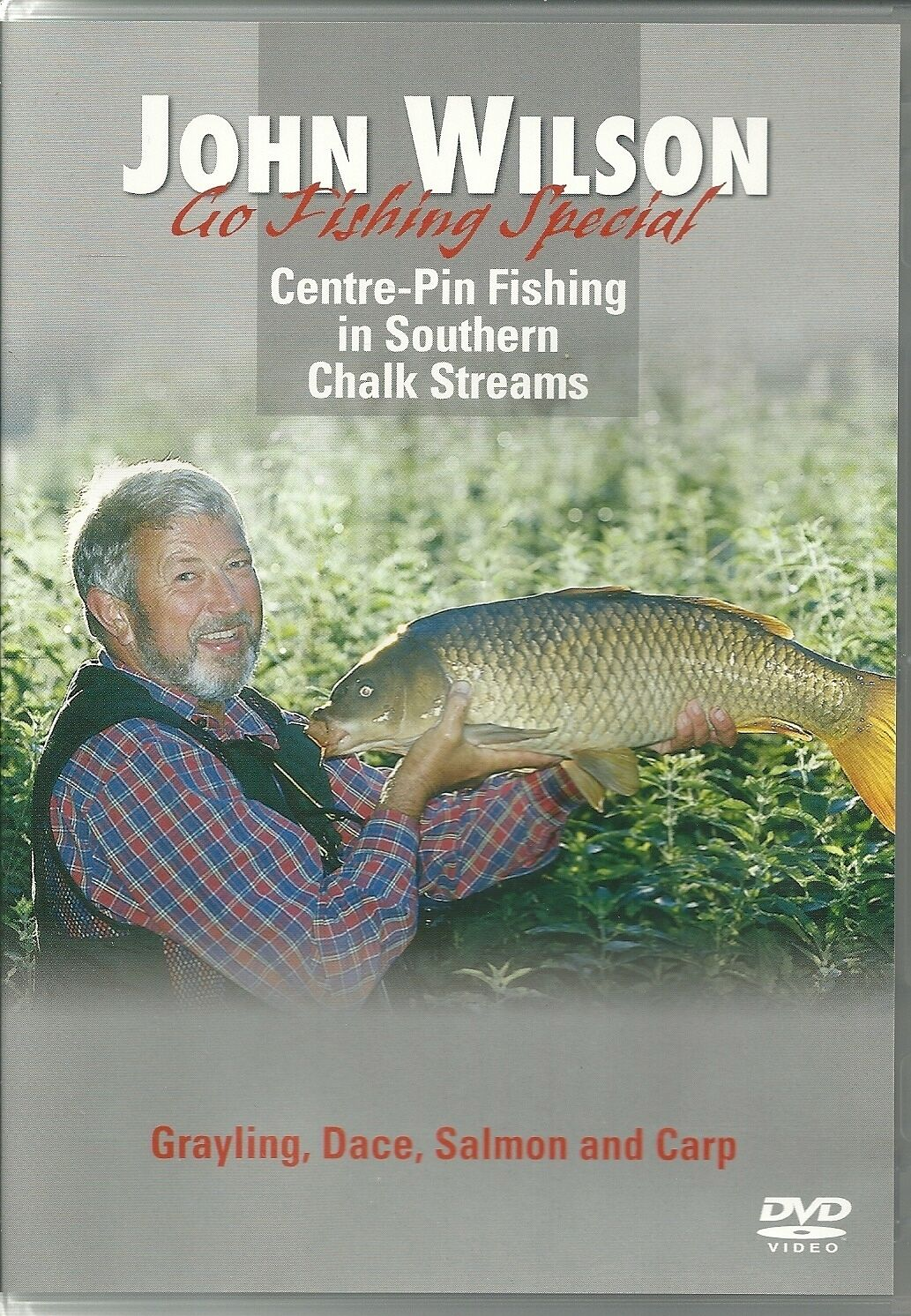 John Wilson Go Fishing Special DVD Centre Pin Southern Chalk Streams Salmon  Carp