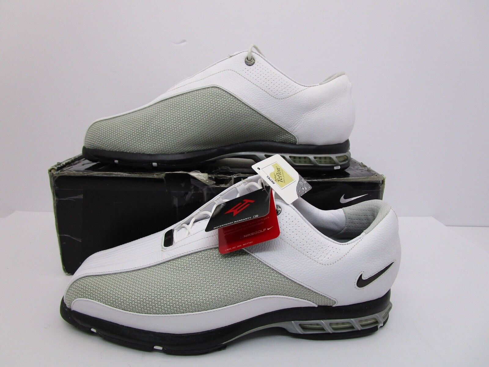 Nike Air Zoom TW 2009 Teaching Tiger Woods Mens Golf Shoes White 13W 336053  192 for sale online