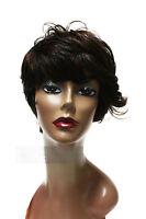 Silhouette 100% Premium Japanese Fiber Heat Resistant Synthetic Short Ellen Wig