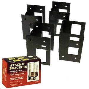Seymour Stack It Brackets Firewood Storage And Work Bench