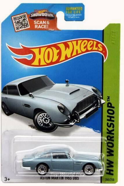 2015 Hot Wheels #250 HW Workshop Then and Now Aston Martin DBS