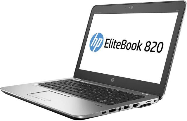 Elitebook 820 G3, i5, 8GB RAM, 180 SSD, MFG PN X1X33UP