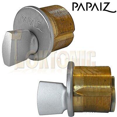 Screw In Cylinders to suit Adams Rite type locks 3 keys metal door lock pair