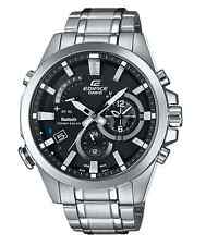 CASIO EDIFICE EQB510D-1A Bluetooth Solar Mobile Link Airplane Mode 100m WR !