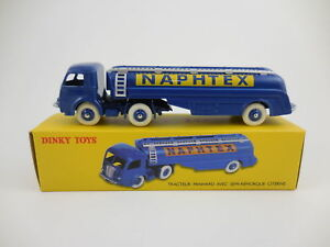 Panhard-truck-trailer-naphtex-ref-32-cb-32cb-dinky-toys-atlas