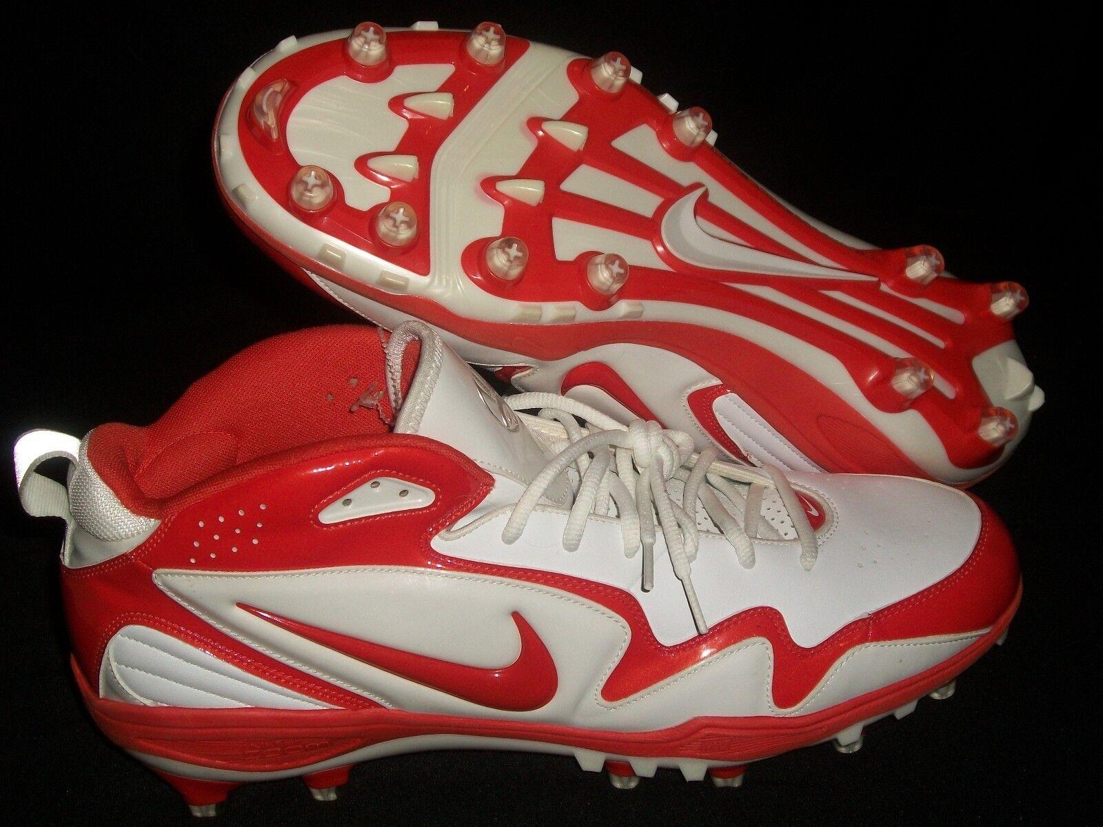 Nike zoom gnadenlos männer - orange (fußball - stollen schuhe sz 17 texas longhorns