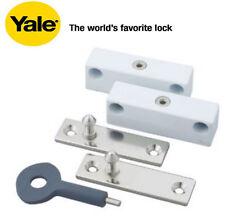 YALE Locks P2P118WE auto finestra LOCK-FINITURA BIANCA (Pacco da 2)