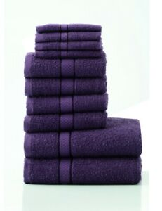 Great Knot 10 Pack 480GSM Towel Bales - Aubergine