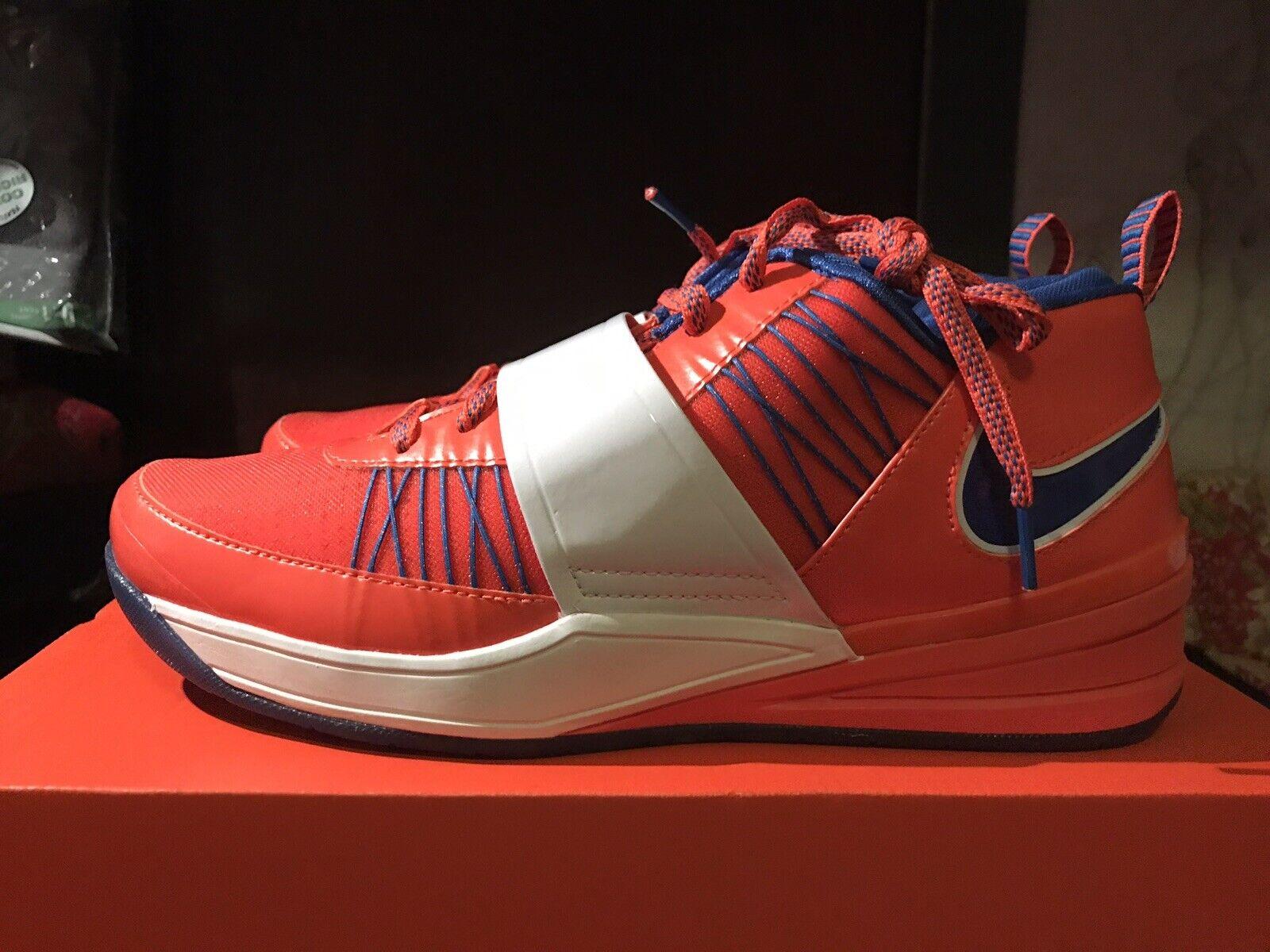 Nike Air Zoom Revis Knicks NYC Brand New  RARE 9.5 DS Volt Fir Cool Grey Camo