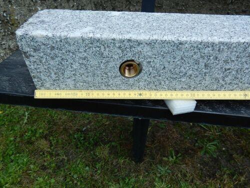 Brunnen Zapfstelle Granit Außenwasserhahn Bewässerung Wasserzapfsäule
