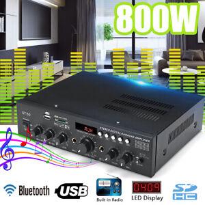 800W-bluetooth-Stereo-Amplifier-HIFI-2CH-Tuner-FM-USB-SD-Mic-Input-Home-Karaoke