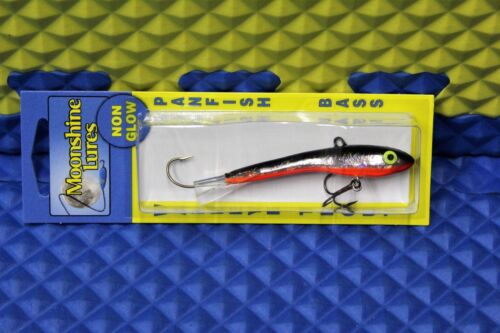 MOONSHINE LURES  Non Glow Holographic Shiver  SIZE #3  Choose Your Color!!