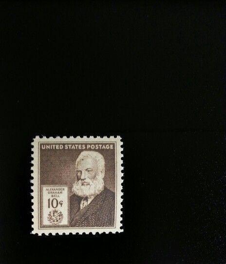 1940 10c Alexander Graham Bell, U.S. Patent for Telepho