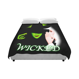 Image Is Loading Wicked The Musical Hot Movie Bedding Duvet Cover